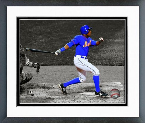 New York Mets Curtis Granderson Spotlight Action Framed Photo