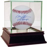 New York Mets Davey Johnson Signed Rawlings Official MLB Baseball w/ 66 Champs