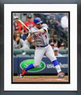 New York Mets David Wright Action Framed Photo