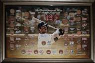 New York Mets David Wright Framed All Time Hits Leader w/ Hit Totals vs Each Team Signed 20 x 32 Collage