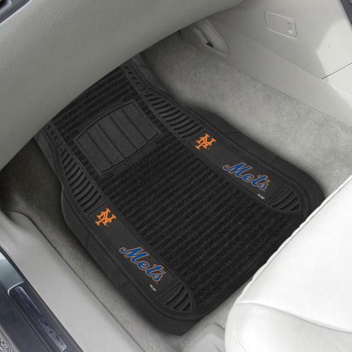 New York Mets Deluxe Car Floor Mat Set