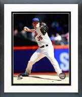 New York Mets Dillon Gee Action Framed Photo