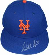 New York Mets Dillon Gee Signed Authentic Hat