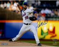 New York Mets Dillon Gee Signed Pitching 8 x 10 Photo