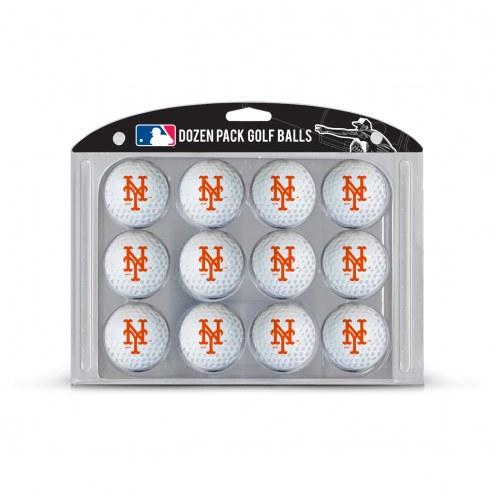 New York Mets Dozen Golf Balls