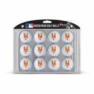 New York Mets Dozen Golf Balls