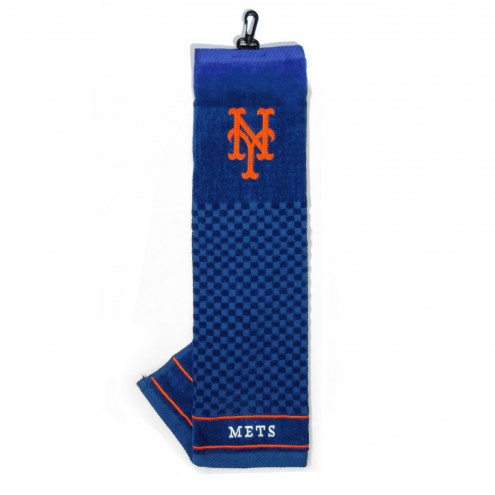 New York Mets Embroidered Golf Towel