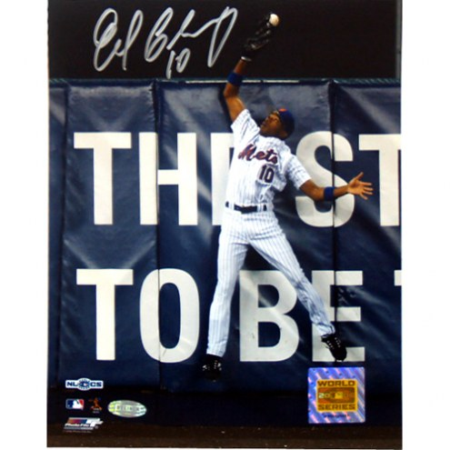 "New York Mets Endy Chavez NLCS GM 7 Robbing Home Run Signed 16"" x 20"" Photo"