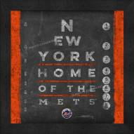New York Mets Eye Chart
