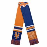 New York Mets Colorblock Big Logo Scarf
