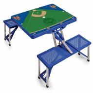 New York Mets Folding Picnic Table