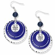 New York Mets Game Day Earrings