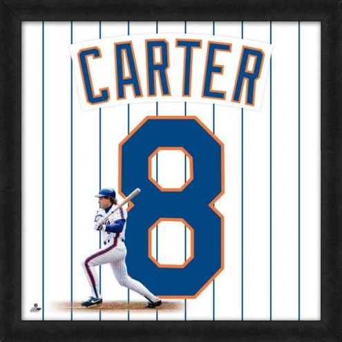 New York Mets Gary Carter Uniframe Framed Jersey Photo
