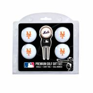 New York Mets Golf Ball Gift Set