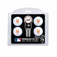 New York Mets Golf Ball Gift Set