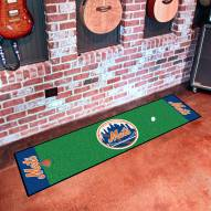 New York Mets Golf Putting Green Mat