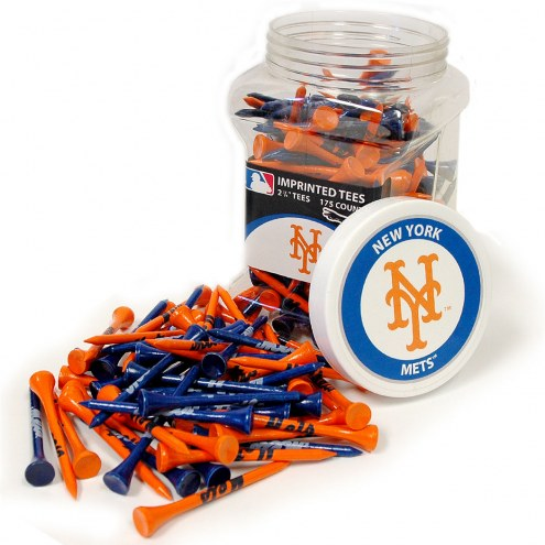 New York Mets 175 Golf Tee Jar
