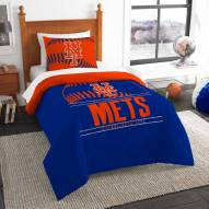 New York Mets Grand Slam Twin Comforter Set