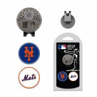 New York Mets Hat Clip & Marker Set