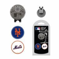 New York Mets Hat Clip & Marker Set