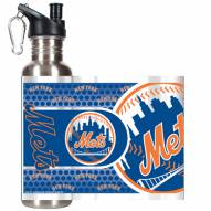 New York Mets Hi-Def Stainless Steel Water Bottle