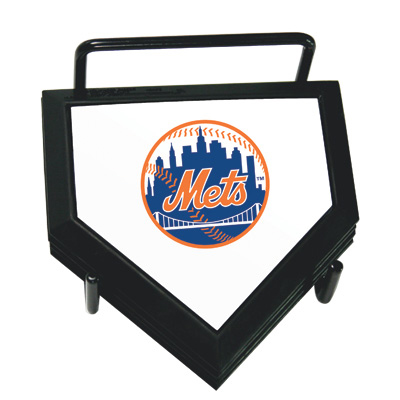 New York Mets Home Plate Coaster Set