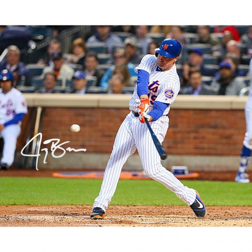 New York Mets Jay Bruce Signed 16 x 20 Photo