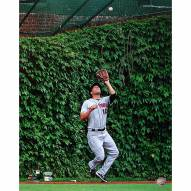 """New York Mets Jeff Francoeur Ivy Catch Signed 16"""" x 20"""" Photo"""