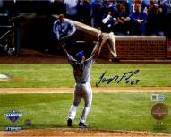 New York Mets Jeurys Familia Signed NLCS Celebration from Back 8 x 10 Photo