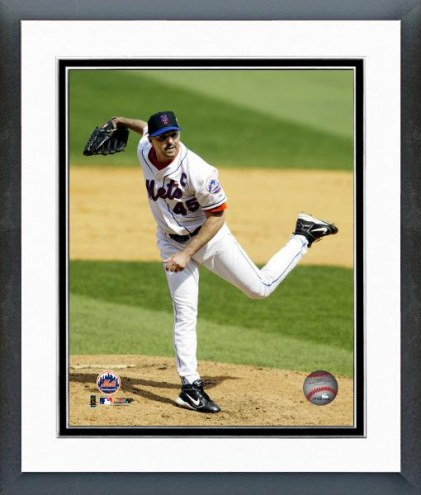 New York Mets John Franco Framed Photo