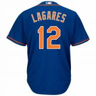 New York Mets Juan Lagares Replica Home Alternate Baseball Jersey