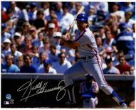 New York Mets Keith Hernandez Signed Slapping Single to Left at Wrigley Field