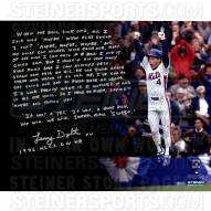 """New York Mets Lenny Dykstra 1986 NLCS GW HR Story Signed 16"""" x 20"""" Photo"""