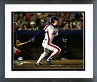 New York Mets Lenny Dykstra Game 7 of the 1986 World Series Framed Photo