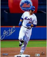 New York Mets Lucas Duda Signed Rounding the Bases 8 x 10 Photo
