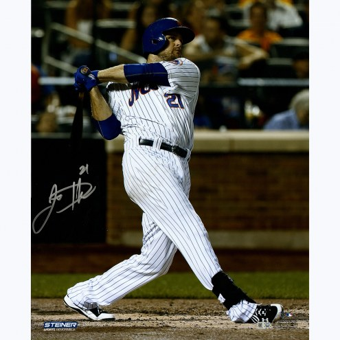 "New York Mets Lucas Duda Swinging Signed 16"" x 20"" Photo"