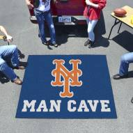 New York Mets Man Cave Tailgate Mat