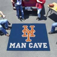 New York Mets Man Cave Tailgate Mat