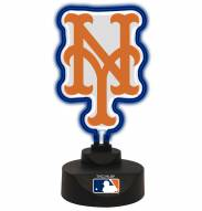 New York Mets Team Logo Neon Light