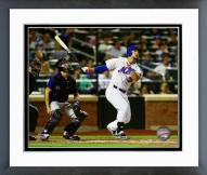 New York Mets Michael Conforto Action Framed Photo