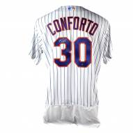 New York Mets Michael Conforto Signed Flexbase Authentic Home White/Royal Jersey
