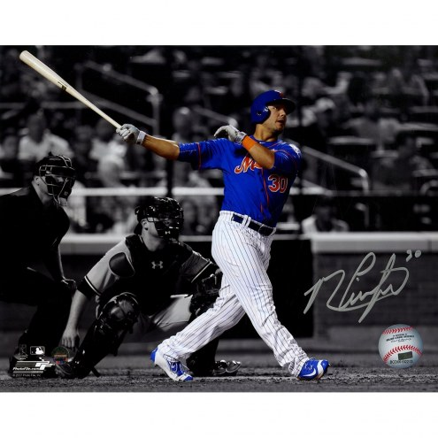 New York Mets Michael Conforto Signed Spotlight 8 x 10 Photo