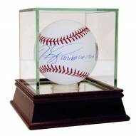 New York Mets Mike Piazza Signed MLB Baseball With United We Stand