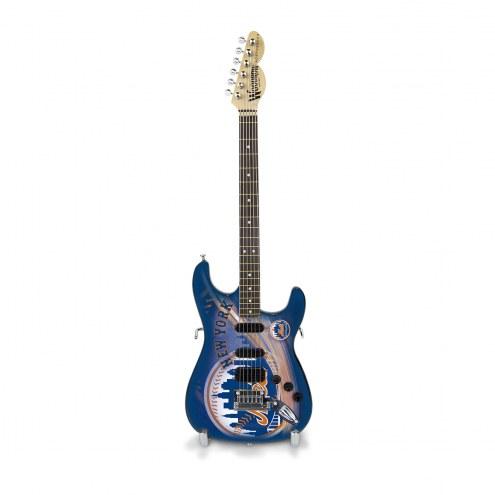 New York Mets Mini Replica Guitar