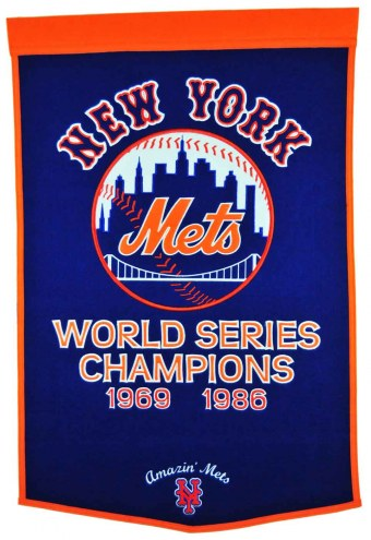 Winning Streak New York Mets Major League Baseball Dynasty Banner