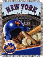 New York Mets MLB Woven Tapestry Throw Blanket