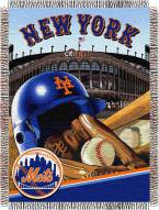 New York Mets MLB Woven Tapestry Throw Blanket