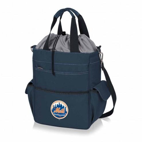 New York Mets Navy Activo Cooler Tote