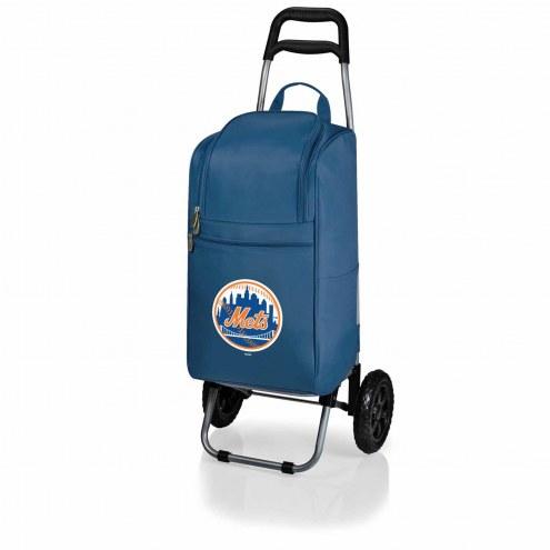 New York Mets Navy Cart Cooler
