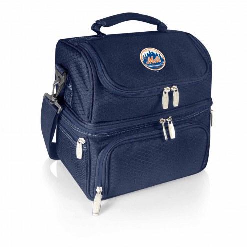 New York Mets Navy Pranzo Insulated Lunch Box